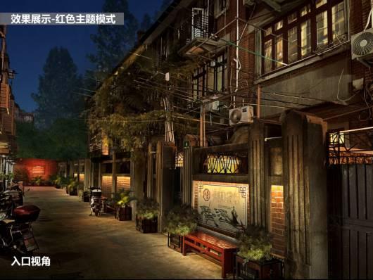 上海虹口多个红色点位将进行景观灯光效果提升插图6