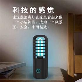 新款车载便携消毒灯USB充电安全便宜除螨杀菌uv紫外线移动杀菌灯