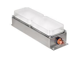 工矿灯隧道灯塔筒灯免维护应急超薄照明灯具2000 lm LED