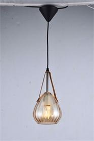 现代室内台灯现代简约玻璃系列台灯家用吊灯-HFT0912
