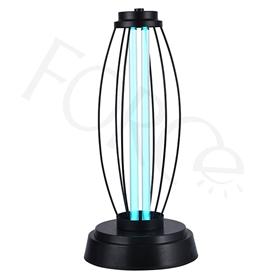 2020新款室内家用ABS底座铁线罩金色紫外线臭氧消毒灯-MMT6250