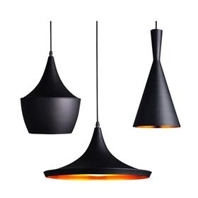 loft复古工业风吊灯创意个性单头餐厅咖啡厅酒吧美式怀旧锅盖灯罩-