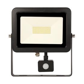 LED flood light with PIR