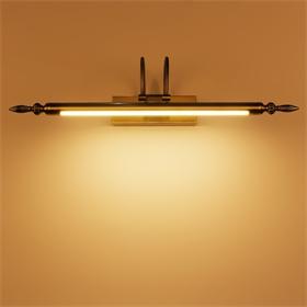 6460炬胜欧式复古镜前灯 卫生间led美式镜灯简约镜柜化