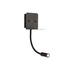 1970带USB卧室床头LED壁灯 客厅背景墙可手机充电壁灯