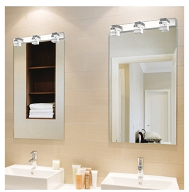 5720大功率LED镜前灯现代简约浴室灯水晶灯卧室卫生间灯饰