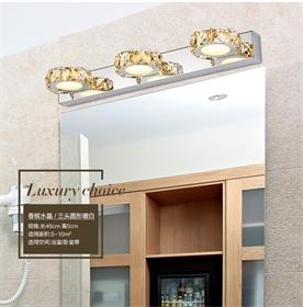 5980洗手间3头水晶跨境爆款批发灯具厂浴室灯