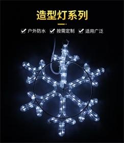 圣诞雪花装饰浪漫LED造型灯