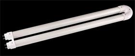 椭圆U型铝塑灯管套件 北美市场LED外壳