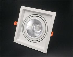 ar111斗胆灯外壳套件 cob15W/20W单头豆胆灯外壳