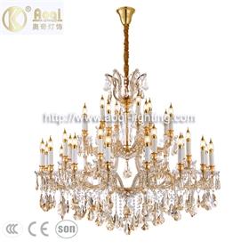 水晶蜡烛吊灯36头4四层吊灯现代简约客厅走廊卧室夹片大吊灯