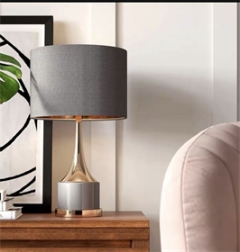 百顺-台灯-BS-278 轻奢时尚个性卧室床头台灯