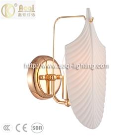 轻奢玻璃陶瓷壁灯 金色客厅灯1单头餐厅卧室床头玄关衣帽间灯饰