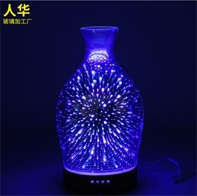 LED 3D炫彩香薰机灯