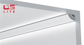 LED铝条灯外壳QSG-1616C