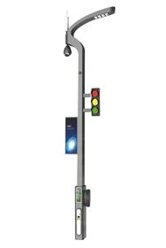 定制5g多功能城市智慧灯杆监控照明一体化智慧路灯
