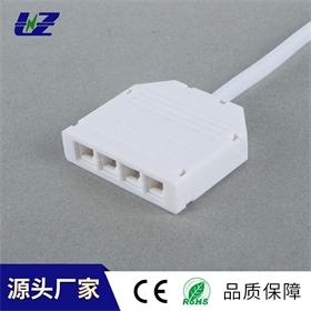 LED四孔分线盒一拖四分线盒杜邦接口橱柜灯全屋家居定制连接器