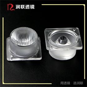 2米对打侧发光透镜直径26MM角度15×40度侧发光灯箱透镜 广告灯箱透镜