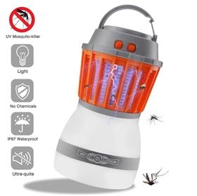 灭蚊灯 户外防水应急灯 充电式照明LED灯 野营驱蚊灯