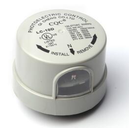 UL认证插锁式路灯光控器 LC-10D