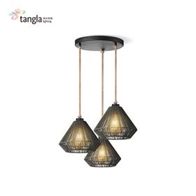 3L pendant lamp in black