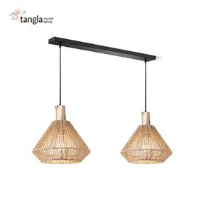 2L pendant lamp (jute)