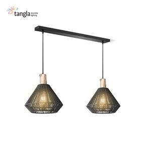 2L pendant lamp in black