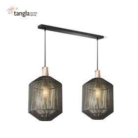 pendant lamp in black  (E27)