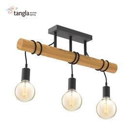 3L pendant lamp(wood)