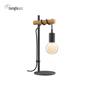 1L table lamp(wood)