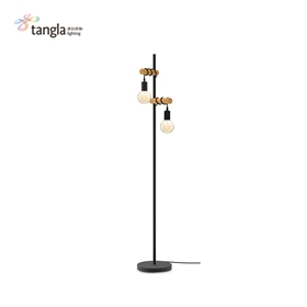 2L floor lamp(wood)