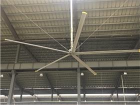 出口通风降温大型吊扇  威真永磁电机生产厂家 7.3米大直径
