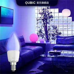 调调细腻调光照明蜡烛灯e14螺口led智能灯泡家用