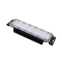 厂家直销LED鳍片散热路灯模组,隧道灯模组60珠3030