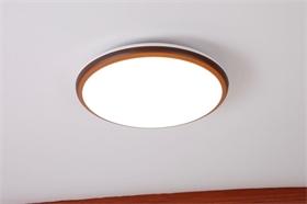 led吸顶灯圆形卧室客厅灯圆形简约现代北欧餐厅过道阳台灯