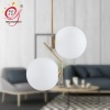 亚克力圆球铁艺吊灯客厅创意灯饰后现代简约大气卧室餐厅美式灯具