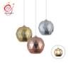 简约单头塑料球形吊灯 创意个性餐厅服装店吧台过道熔岩灯