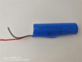 18650锂电池太阳能灯蓝牙音箱2200mah带CB UL