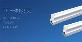 浙江炬星照明 T5一体化灯管安装方便 性能稳定