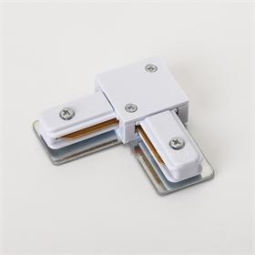 皓泰二线导轨用迷你一字连接器  I型两芯轨道接驳器 直通接头
