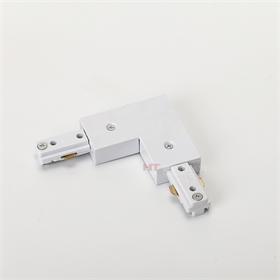 皓泰三线导轨用迷你一字连接器  I型3芯轨道接驳器 直通接头