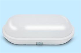 工廠定制20W橢圓防潮壁燈套件戶外燈套件防水膠 導熱塑料壁燈