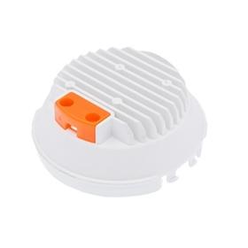 佛山工廠定制新款8寸卡扣筒燈套件塑包鋁外殼塑包鋁套件 導熱塑