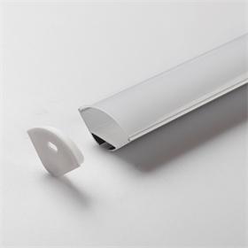 櫥柜燈外殼 LED硬燈條套件 LED線條燈配件 軟燈帶 U型