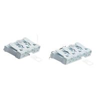三防灯筒灯专用KB18系列免螺丝快速接线端子弹簧按压式接线柱