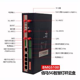 BMG5100智慧照明5G网盒