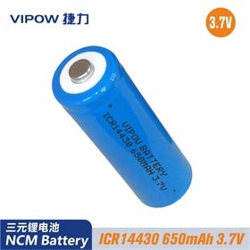 14430 650mAh 3.7V草坪灯 应急灯电池