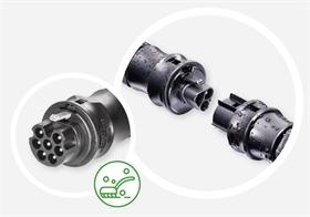 威琅电气RST系列防水连接器及配套线束
