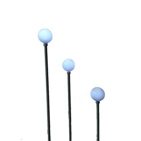 工厂直销led景观灯 乳白圆球灯户外防水景区装饰插地芦苇灯