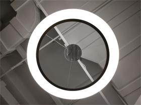环形亚克力吊灯 按您所需订制 简约时尚大气亚克力吊灯